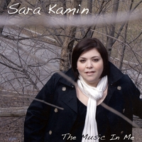 The Music in Me, the new CD from Sara Kamin's cover graphic